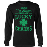 Art - Lucky Charms - District Long Sleeve / Black / S - 7