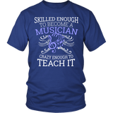 Orchestra - Skilled Enough - District Unisex Shirt / Royal Blue / S - 2