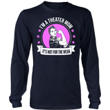 Theater - Not For The Weak Mom - District Long Sleeve / Navy / S - 6