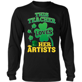 Art - St. Patrick's Artists - District Long Sleeve / Black / S - 6