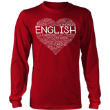English - Heart - District Long Sleeve / Red / S - 6