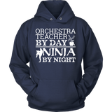 Orchestra - Teacher By Day - Hoodie / Navy / S - 9