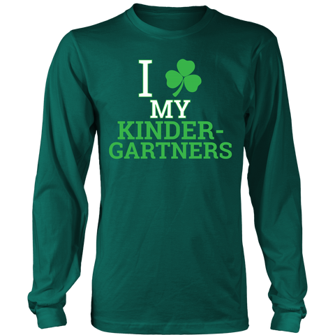 Kindergarten - Clover - District Long Sleeve / Dark Green / S - 1
