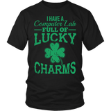 Computer - Lucky Charms - District Unisex Shirt / Black / S - 4