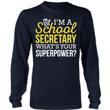 Secretary - Superpower - District Long Sleeve / Navy / S - 6