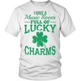 Music - Lucky Charms - District Unisex Shirt / White / S - 2