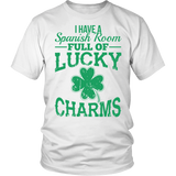 Spanish - Lucky Charms - District Unisex Shirt / White / S - 2