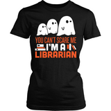 Librarian - Halloween GhostT-shirt - Keep It School - 5