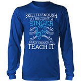 Chorus - Skilled Enough - District Long Sleeve / Royal Blue / S - 6