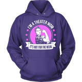 Theater - Not For The Weak Mom - Hoodie / Purple / S - 9