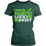 Teacher - Lucky Shirt - District Made Womens Shirt / Forest Green / S - 12