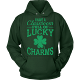 Teacher - Lucky Charms - Hoodie / Dark Green / S - 10