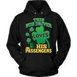 School Bus Driver - St. Patrick's Day His Passengers - Hoodie / Black / S - 9