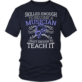 Orchestra - Skilled Enough - District Unisex Shirt / Navy / S - 4