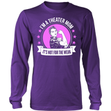 Theater - Not For The Weak Mom - District Long Sleeve / Purple / S - 5