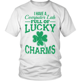 Computer - Lucky Charms - District Unisex Shirt / White / S - 2