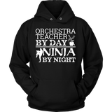 Orchestra - Teacher By Day - Hoodie / Black / S - 8