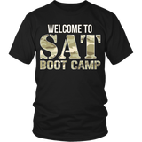 SAT Boot Camp - District Unisex Shirt / Black / S - 4
