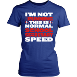 Secretary - Normal Speed - District Made Womens Shirt / Royal / S - 12
