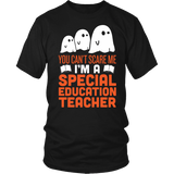 Special Education - Halloween Ghost - District Unisex Shirt / Black / S - 2