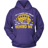 School Bus Driver - Problems - Hoodie / Purple / S - 9