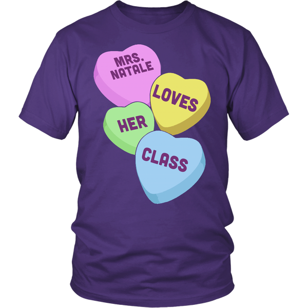 Mrs. Natale - custom heartT-shirt - Keep It School