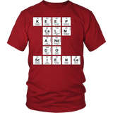 Science - Keep Calm - District Unisex Shirt / Red / S - 3