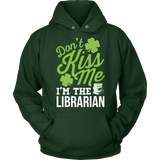 Librarian - Don't Kiss Me - Hoodie / Dark Green / S - 9