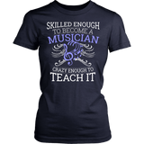 Orchestra - Skilled Enough - District Made Womens Shirt / Navy / S - 13