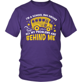 School Bus Driver - Problems - District Unisex Shirt / Purple / S - 3