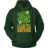 School Bus Driver - Don't Kiss Me - Hoodie / Dark Green / S - 9