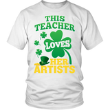 Art - St. Patrick's Artists - District Unisex Shirt / White / S - 2