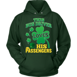 School Bus Driver - St. Patrick's Day His Passengers - Hoodie / Dark Green / S - 11