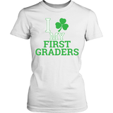 First Grade - Clover - District Made Womens Shirt / White / S - 12