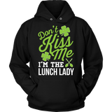 Lunch Lady - Don't Kiss Me - Hoodie / Black / S - 7