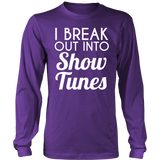Theater - Show Tunes - District Long Sleeve / Purple / S - 6