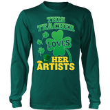 Art - St. Patrick's Artists - District Long Sleeve / Dark Green / S - 5