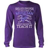 Orchestra - Skilled Enough - District Long Sleeve / Purple / S - 6