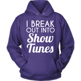 Theater - Show Tunes - Hoodie / Purple / S - 9