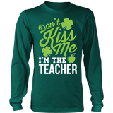 Teacher - Don't Kiss Me - District Long Sleeve / Dark Green / S - 4