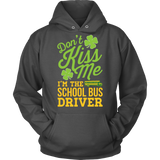 School Bus Driver - Don't Kiss Me - Hoodie / Charcoal / S - 8