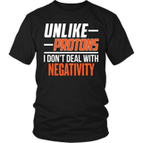 Science - Unlike Protons - District Unisex Shirt / Black / S - 6