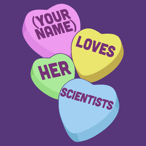 Science - Candy Hearts - Keep It School - 15