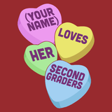 Second Grade - Candy Hearts -  - 15