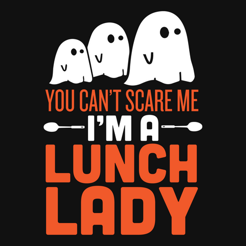 Lunch Lady - Halloween Ghost -  - 9
