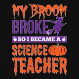 Science - My Broom Broke -  - 13