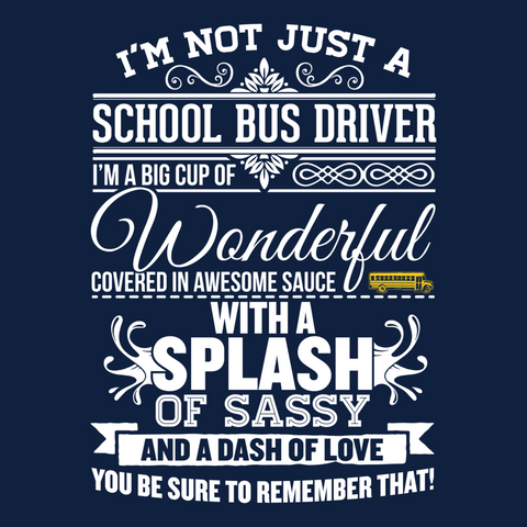 School Bus Driver - Big Cup -  - 14
