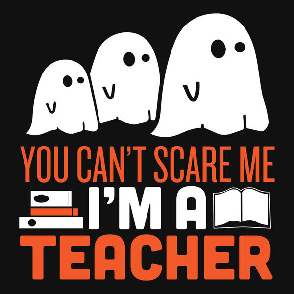 Teacher Halloween Ghost Keep It School