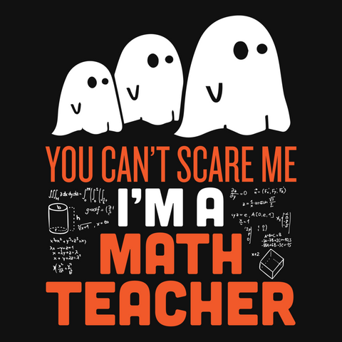 Math - Halloween GhostT-shirt - Keep It School - 9