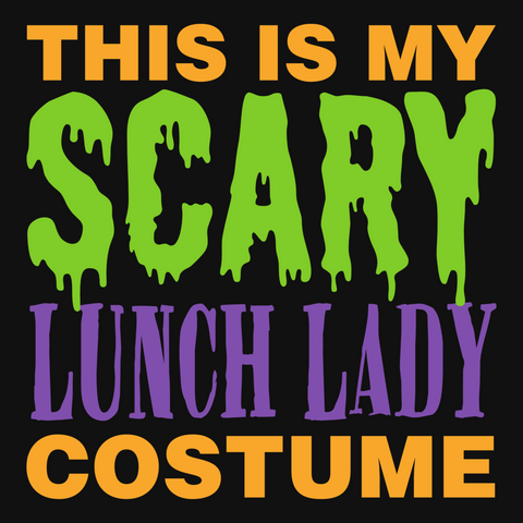 Lunch Lady - Halloween Costume -  - 9